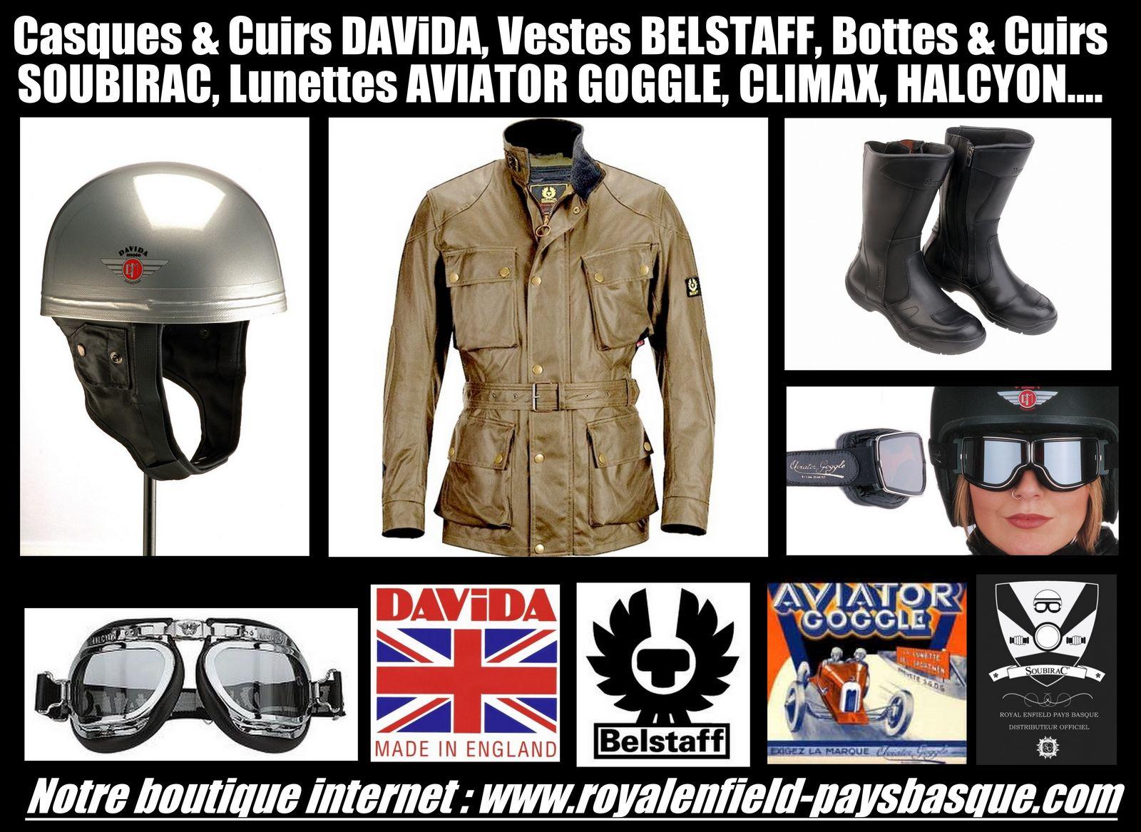 Davida Belstaff Soubirac Climax Aviator Goggle Jeantet