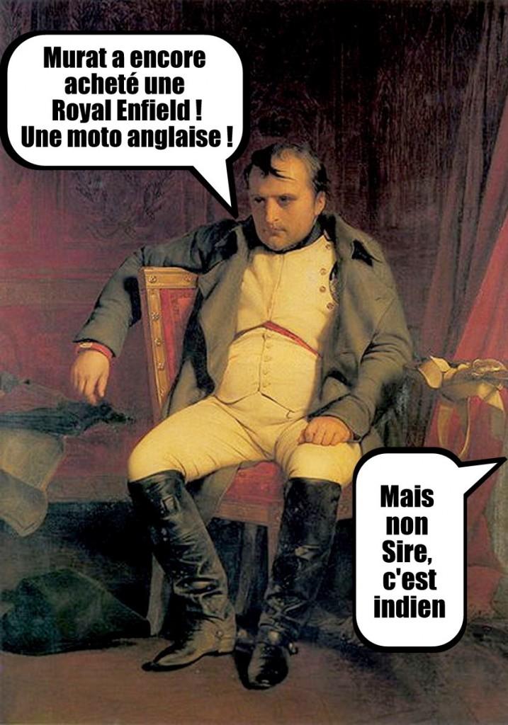 Napoléon Royal Enfield