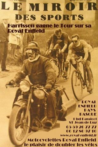 Royal Enfield Pays Basque Miroir des Sports Tour de France [640x480]