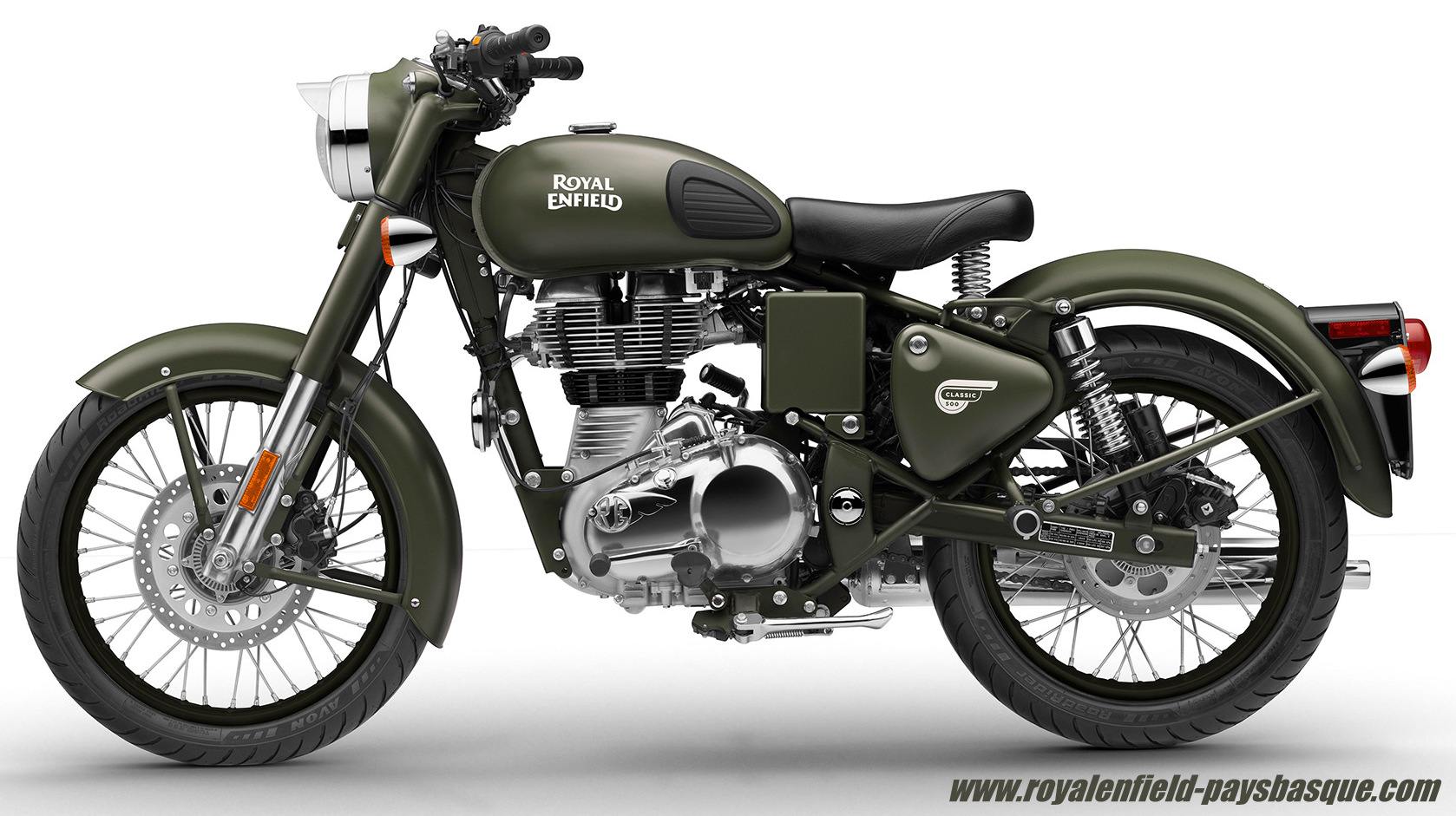 la classic military royal enfield royal enfield pays basque. Black Bedroom Furniture Sets. Home Design Ideas