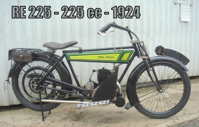 Royal enfield 225cc 1924 royal enfield pays basque for Royalenfieldlesite