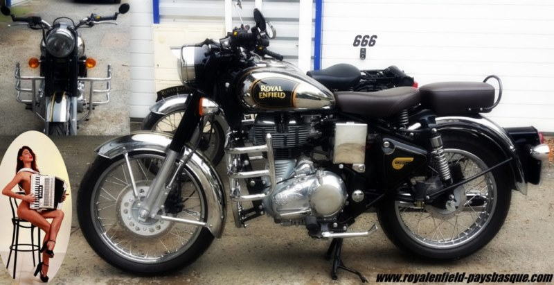non class royal enfield pays basque. Black Bedroom Furniture Sets. Home Design Ideas
