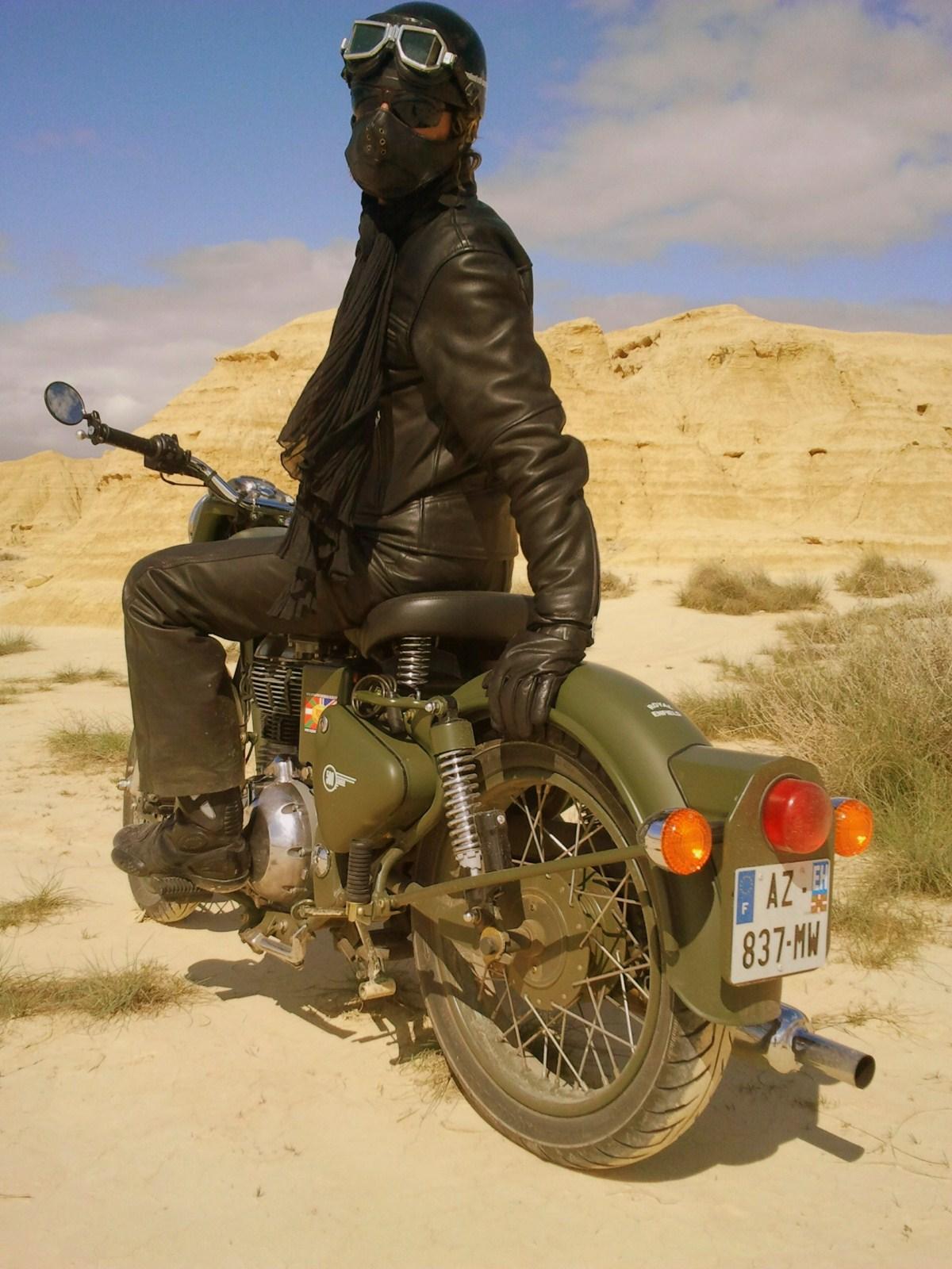 désert des bardenas en moto